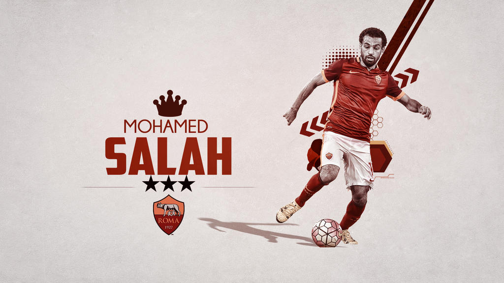 Mohamed Salah Roma Wallpaper By RakaGFX On DeviantArt