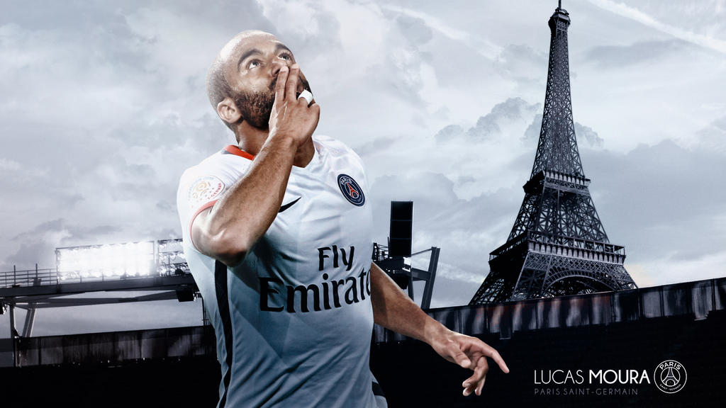 Lucas Moura PSG Wallpaper 2015 2016 By RakaGFX
