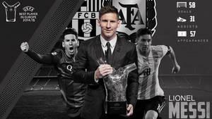 Lionel Messi - UEFA Best Player 2014/2015