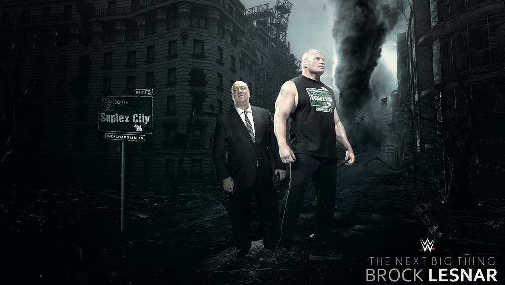 Brock Lesnar Wallpaper By RakaGFX
