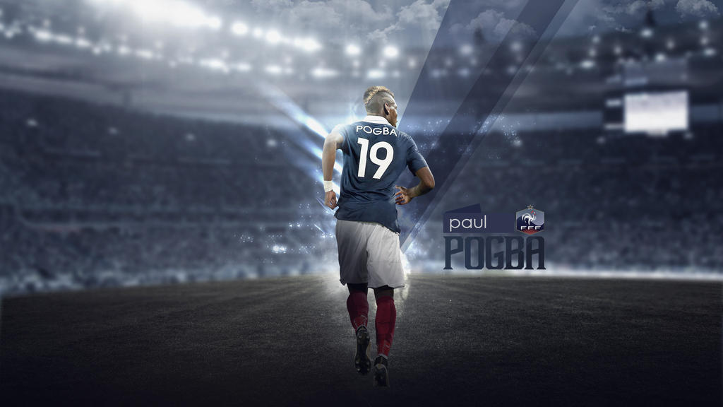 Paul Pogba Wallpaper (France) By RakaGFX On DeviantArt