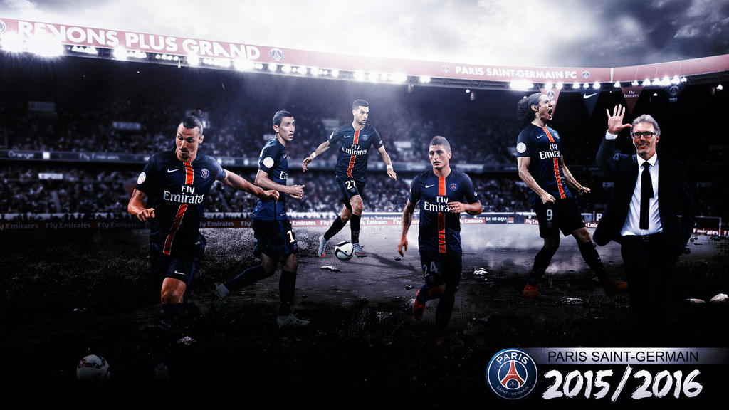 PSG 2015 2016 Wallpaper By RakaGFX