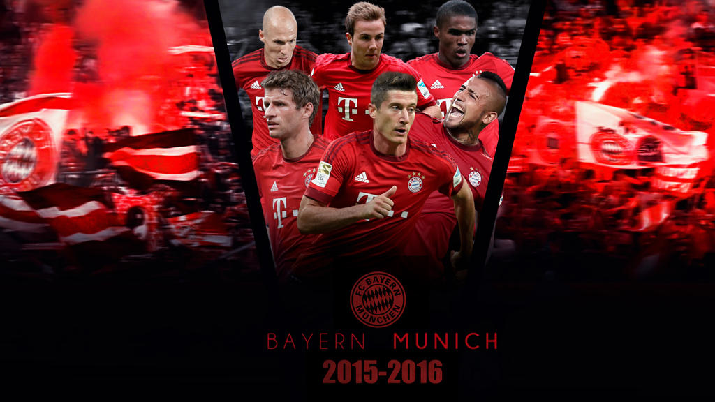 Bayern Munich 2015 2016 Wallpaper By RakaGFX