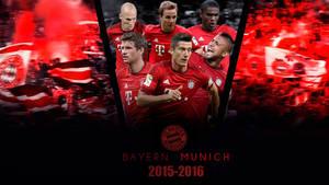 Bayern Munich 2015/2016 Wallpaper