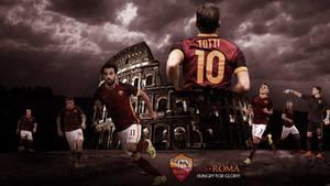 AS Roma 2015/2016 Wallpaper