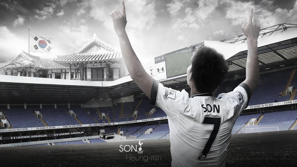 Son Heung-Min Wallpaper (Tottenham Hotspur) By RakaGFX On
