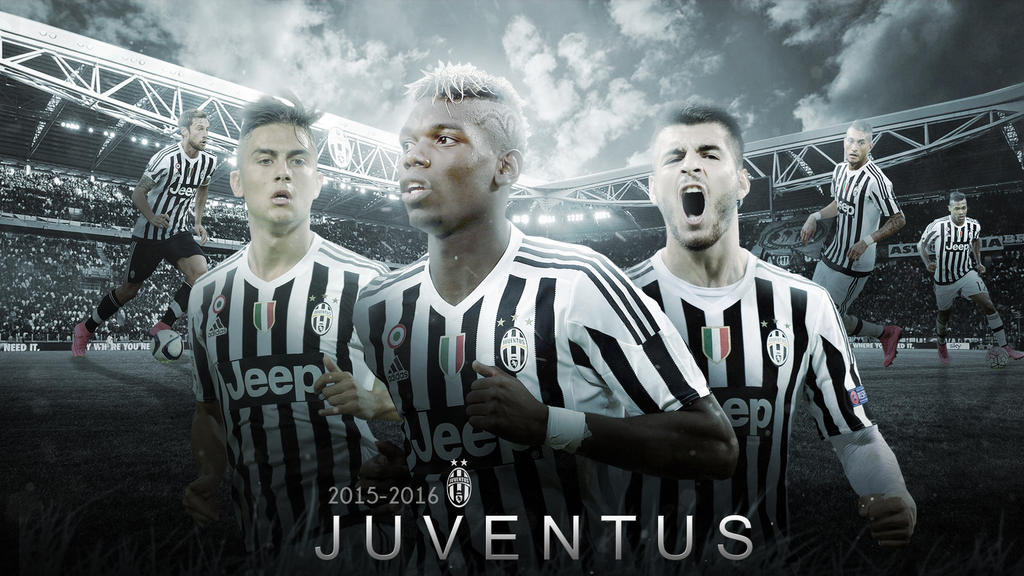 Juventus Wallpaper 2015 2016 V2 By RakaGFX