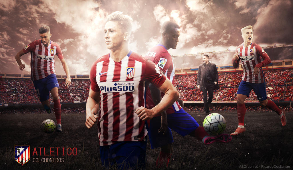 Atletico madrid 201516 wallpaper feat 4le88 by rakagfx on deviantart atletico madrid 201516 wallpaper feat voltagebd Image collections