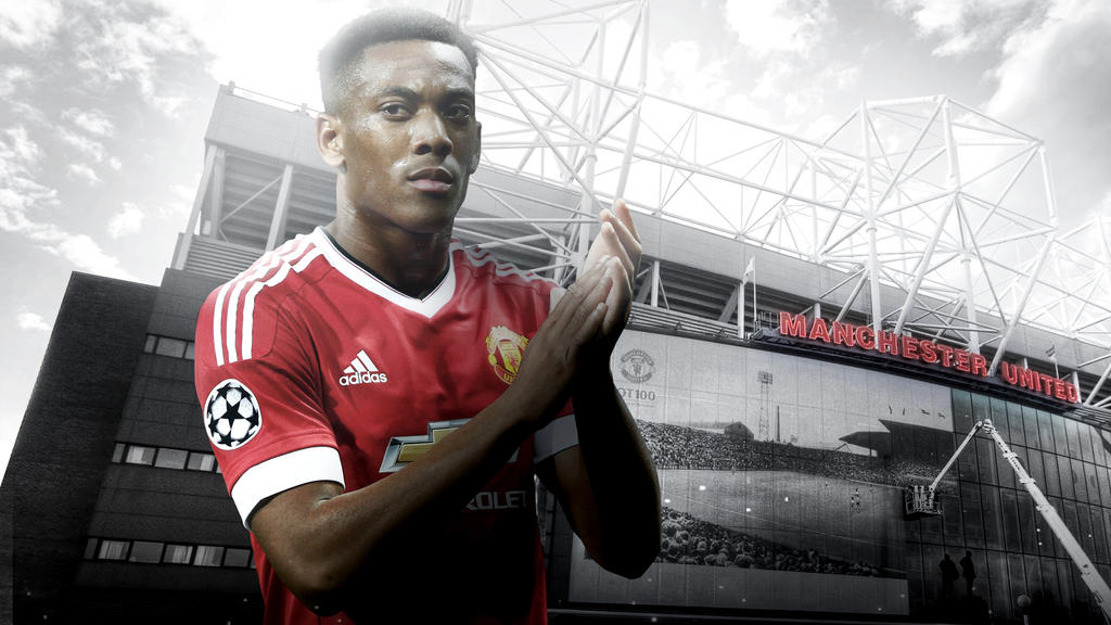 Anthony Martial 2015/16 Wallpaper By RakaGFX On DeviantArt
