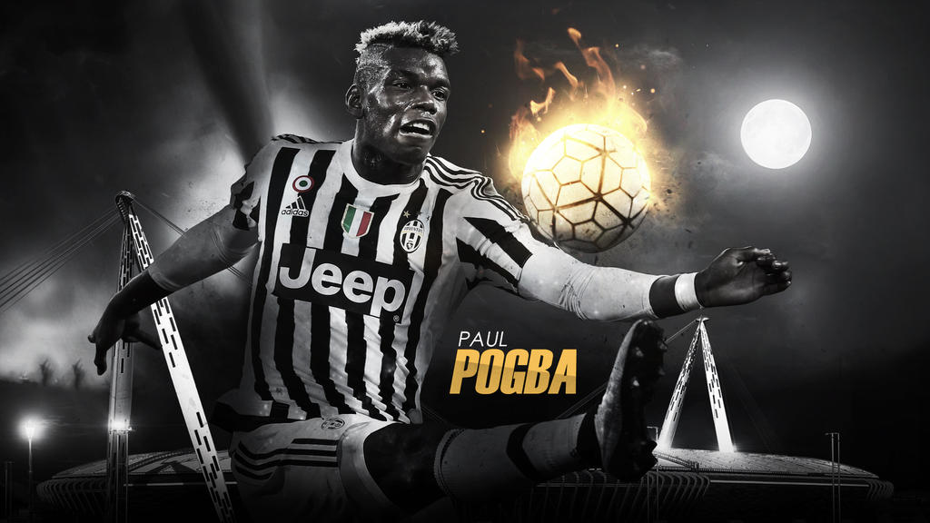 Paul Pogba 2015/16 Wallpaper By RakaGFX On DeviantArt