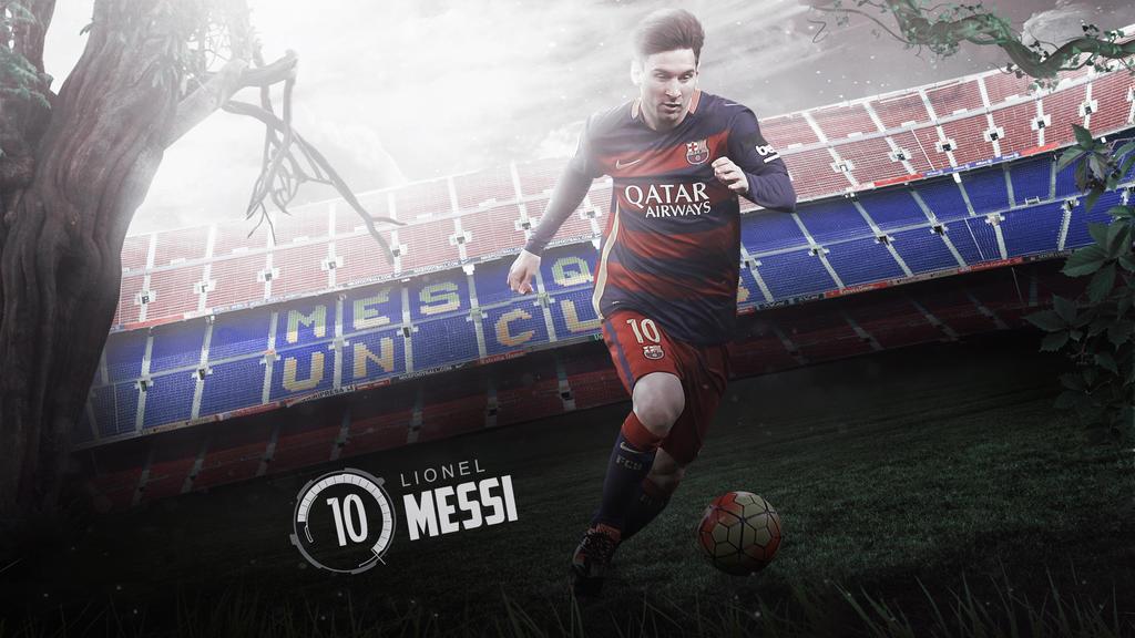 Lionel Messi 2015/16 Wallpaper By RakaGFX On DeviantArt