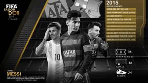 FIFA Ballon D'Or 2015 Finalist: Lionel Messi