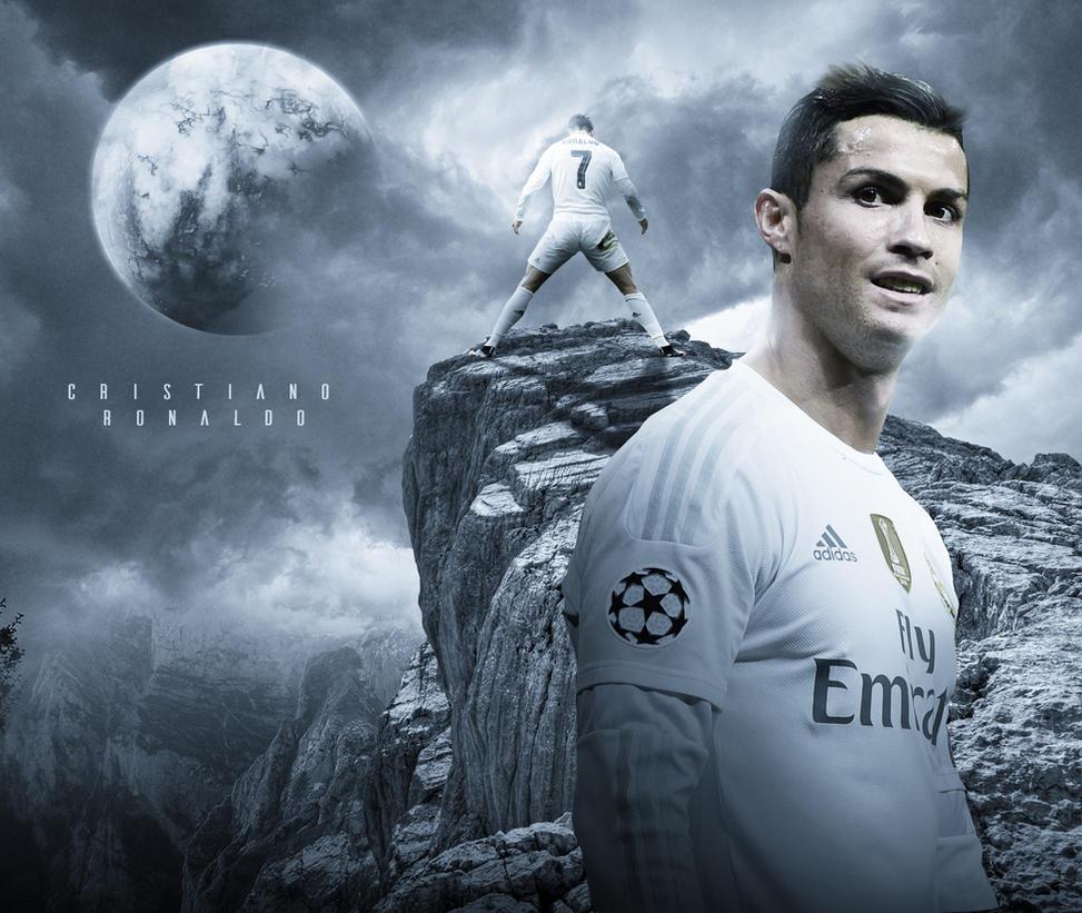 Cristiano Ronaldo Wallpaper: Cristiano Ronaldo 2015/16 Wallpaper By RakaGFX On DeviantArt