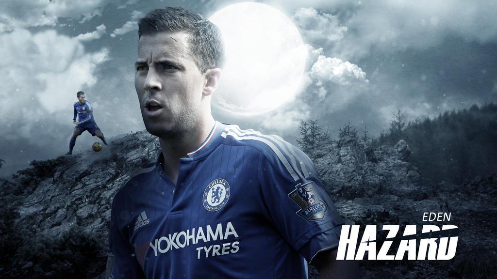 Eden Hazard 2015 16 Wallpaper By RakaGFX