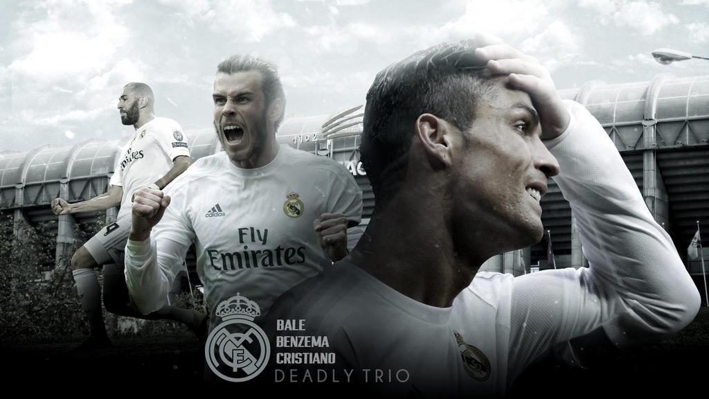 Bale Benzema Cristiano