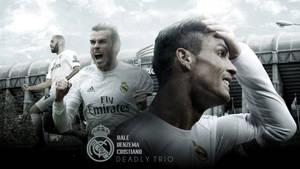 Bale Benzema Cristiano - 2015/16 Wallpaper by RakaGFX