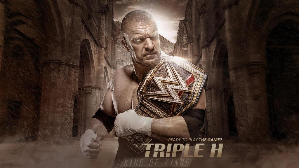Triple H Wallpaper By RakaGFX
