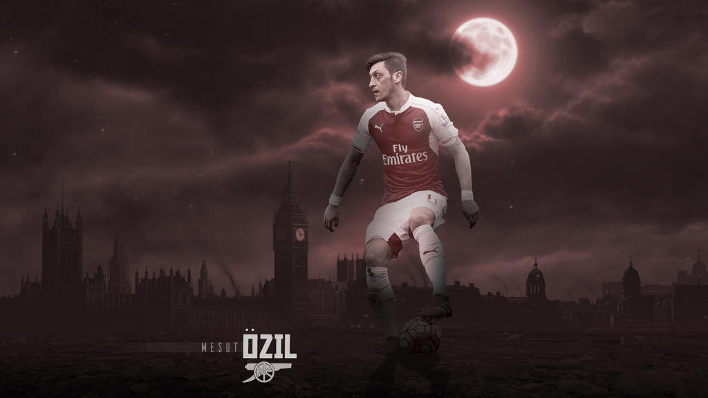 Mesut Ozil 2015/2016 Wallpaper By RakaGFX On DeviantArt