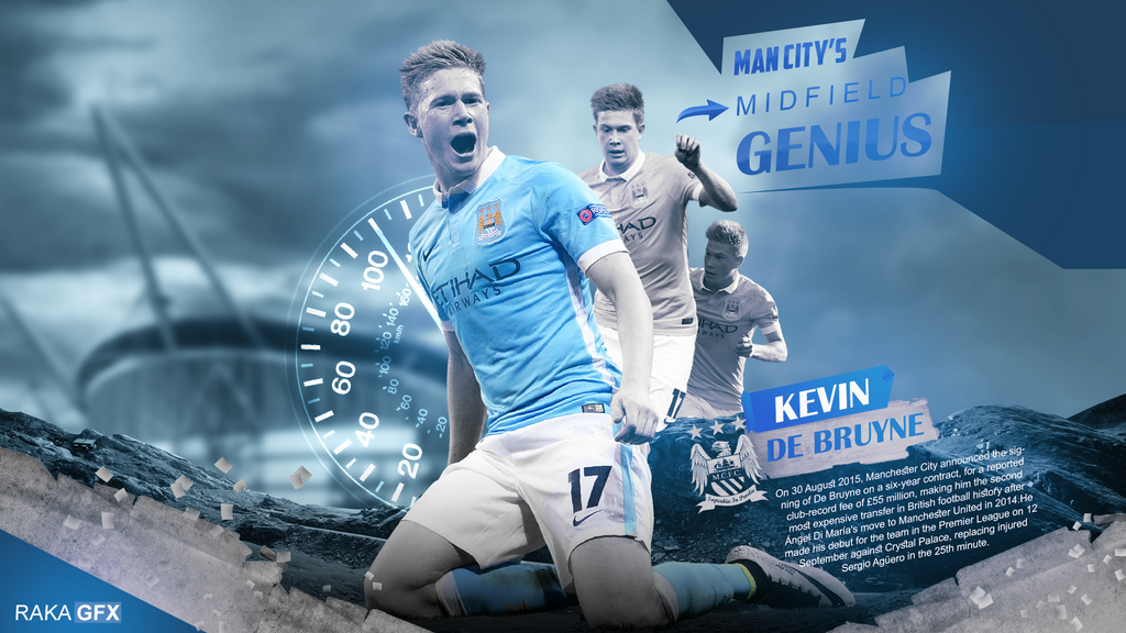 Kevin De Bruyne 2015/16 Wallpaper By RakaGFX On DeviantArt