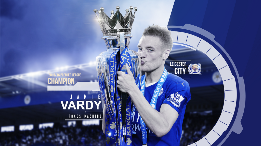 Jamie Vardy 2015/16 Wallpaper By RakaGFX On DeviantArt
