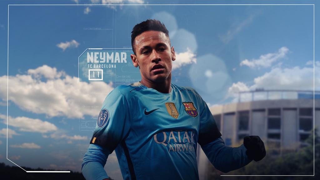 Neymar 2015 16 Wallpaper By RakaGFX