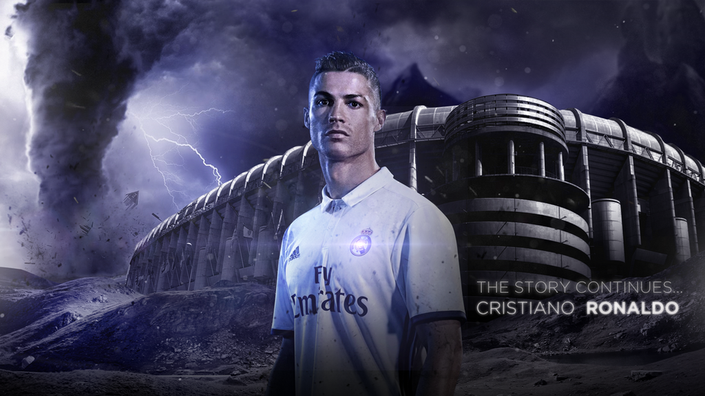 Cristiano Ronaldo 2016/17 Wallpaper by RakaGFX on DeviantArt