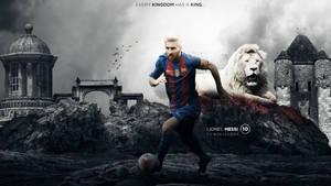 Lionel Messi 2016/17 Wallpaper by RakaGFX