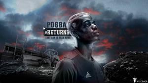 Paul Pogba 2016/17 Wallpaper by RakaGFX