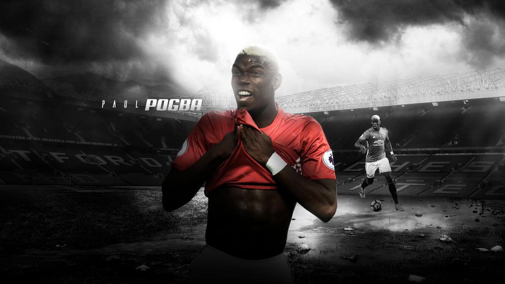 Paul Pogba 2016/17 Wallpaper V2 By RakaGFX On DeviantArt