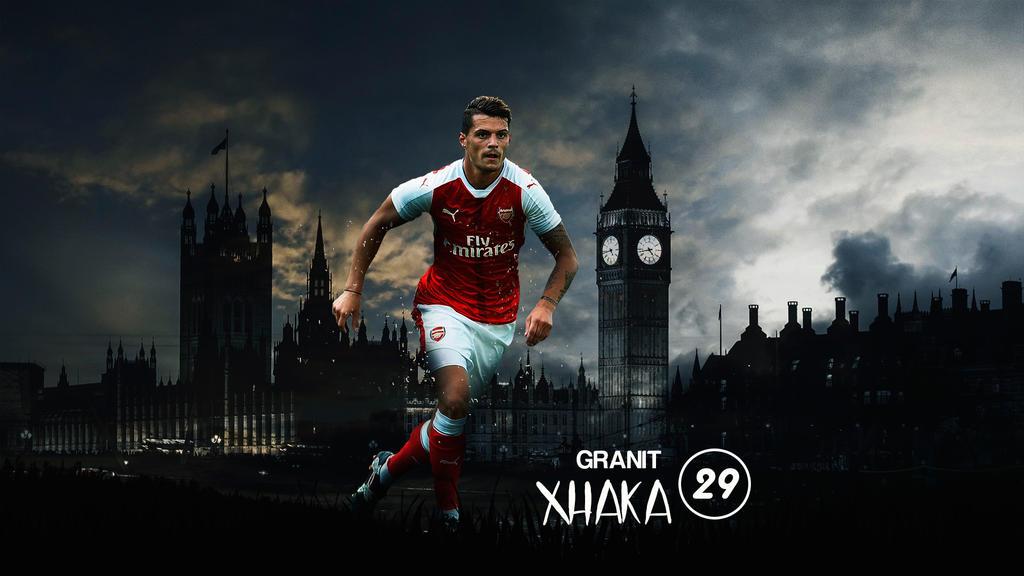 Granit Xhaka 2016/17 Wallpaper By RakaGFX On DeviantArt