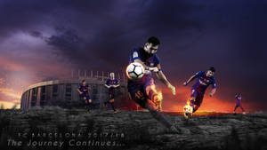 FC Barcelona 2017/18 Wallpaper