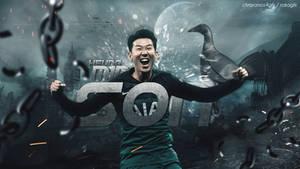 Heung Min Son 2018/19 Wallpaper x ChrisRamos4GFX