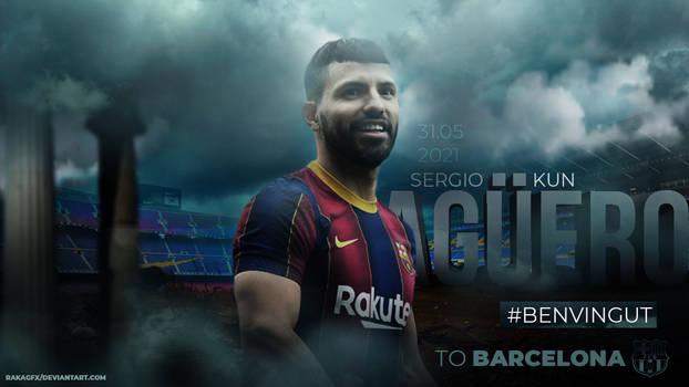 Sergio Aguero Barcelona 2021 Wallpaper