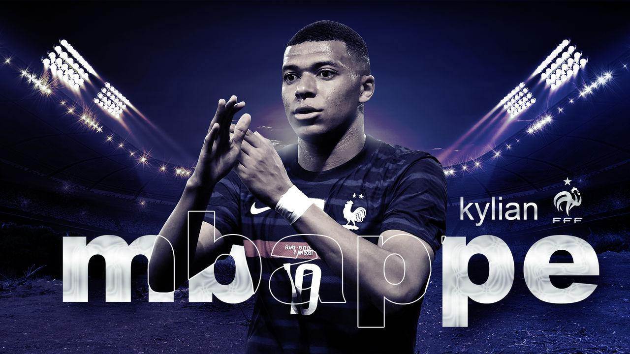 Kylian Mbappe France Wallpaper