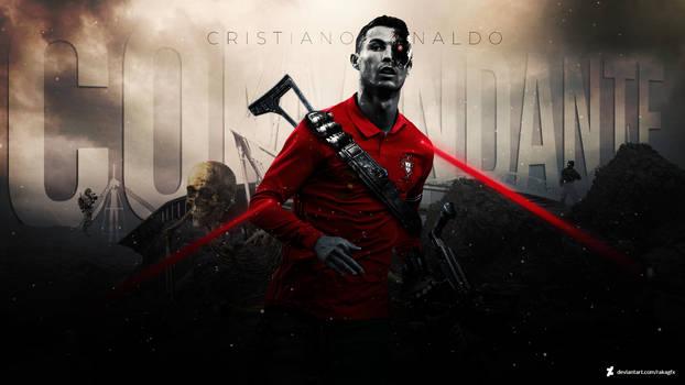 Cristiano Ronaldo 'El Comandante' Wallpaper 2021