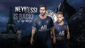 Messi/Neymar Wallpaper 2021