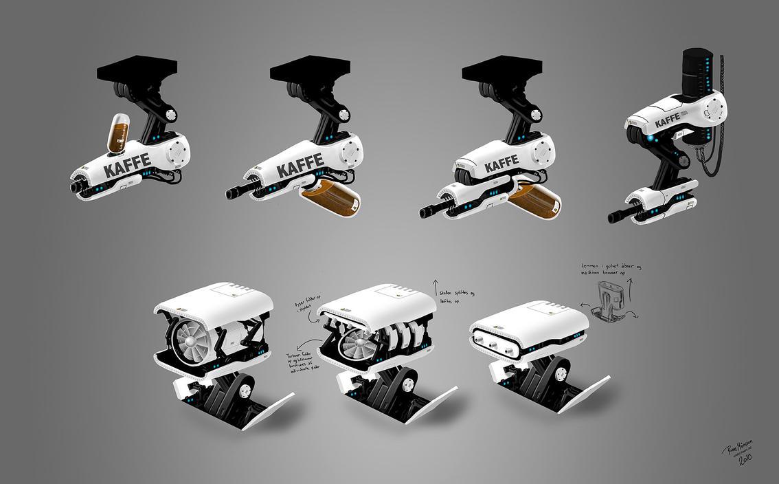 Biotex robots by MaansRune