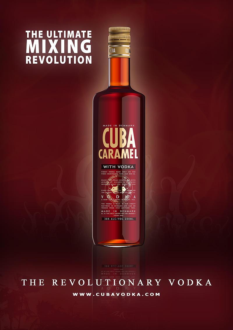 CUBA caramel vodka by MaansRune