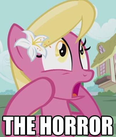 The Horror by VanylFlutterShore