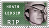 Heath Ledger Stamp by P3nisness