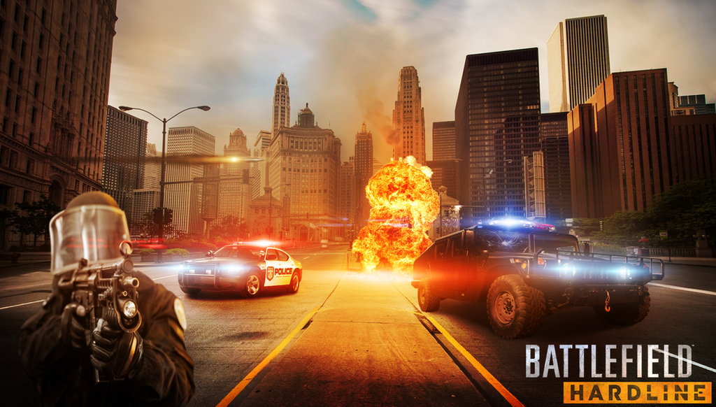 Battlefield Hardline Wallpaper By JanniFX