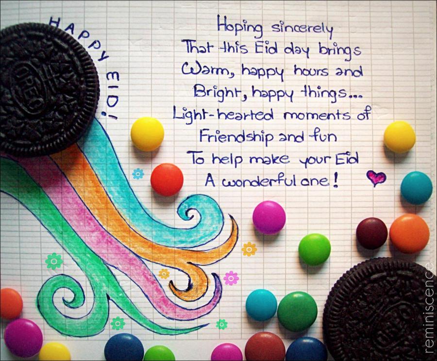 Happy Eid By XReminiscencex