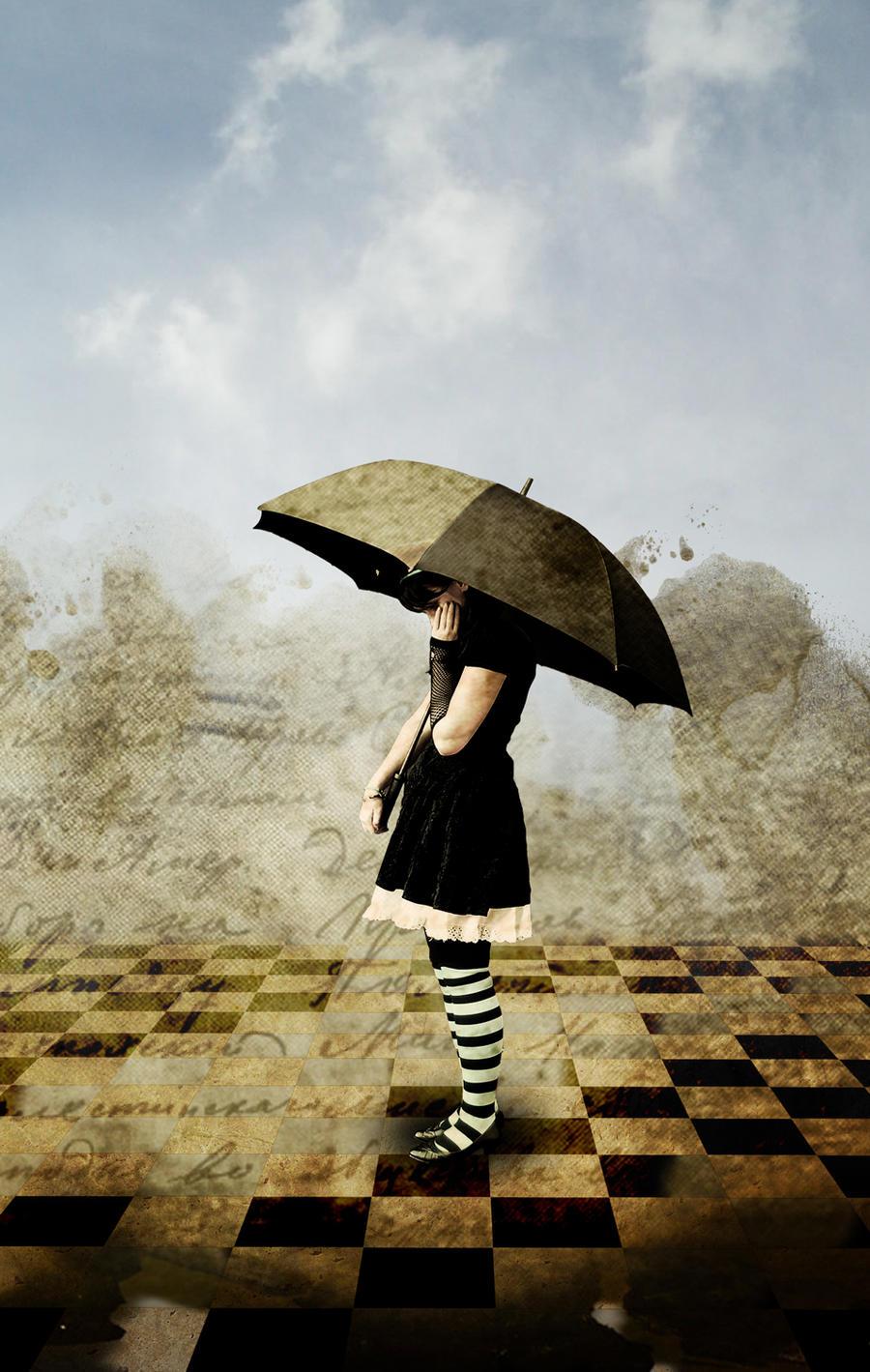 Umbrella Girl by deckardpain on DeviantArt