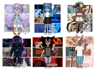 :. Mystery Moodboard Anthros - CLOSED .: by boba-deer