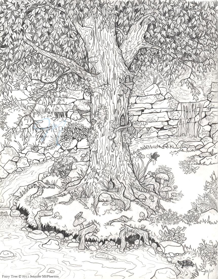 Fairy Tree by Astral-Deva