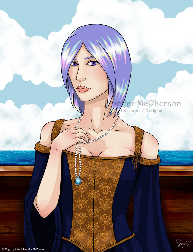 Behind violet eyes... by Astral-Deva
