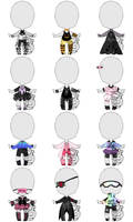 Adoptable Outfits Set Price - CLOSED