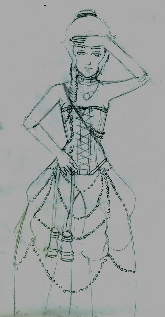 FS7 Lady Azur by raven94
