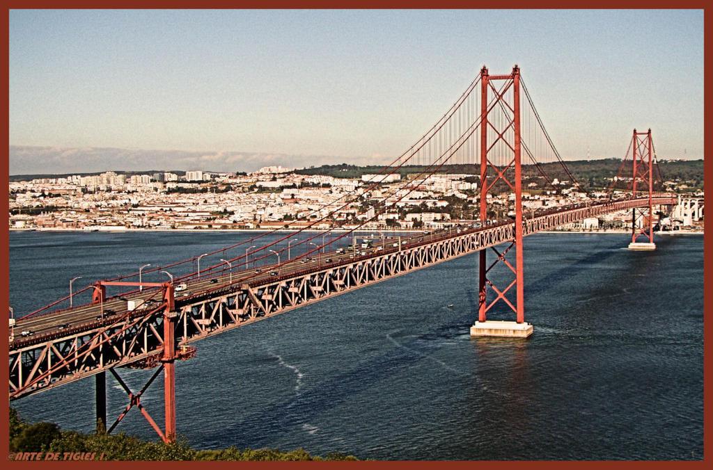 25 April Bridge Lisbon Portugal