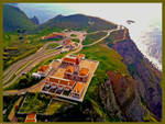 Hang Glider's View of Cabo da Roca, Portugal